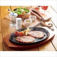宮崎県産豚のロースハムステーキ〔60g×3枚〕