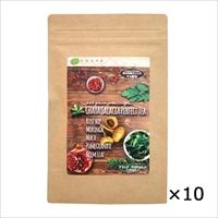 ケース CHAYA サラシア パーフェクトティー 〔(2.5g×10)×10〕 東京都 無農薬 栄養補助食品 お茶 チャヤ マクロビオティックス