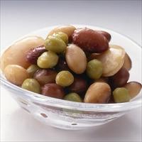 煮豆みっくす 10P 〔185g×10〕 京都府 惣菜 北尾商事