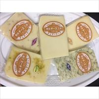 チェダーチーズ 5種 セット 〔鹿追×110g、青のり・スモーク・ペッパー・柚子胡椒各90g〕 北海道 国産 チーズ 鹿追チーズ工房