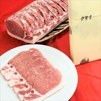 輝ポーク 豚ロース肉 カツ用 〔100g×5〕 東京 国産 きらきらポーク 豚肉 伊勢重