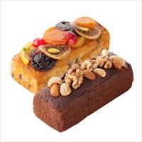 パウンドケーキ 2本セット 〔フルーツケーキ約220g・チョコレートケーキ約200g〕 洋菓子 神奈川 ラ・マーレ・ド・チャヤ 葉山本店