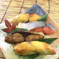 レンジで簡単 焼魚 RY-50 〔さわら西京焼、銀ひらす西京焼、紅鮭塩焼、ぶり照焼×各2〕 魚介類 惣菜 西京漬 照焼