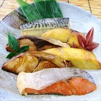レンジで簡単 焼魚 RY-30 〔さわら西京焼、銀ひらす西京焼、銀ひらす照焼、紅鮭塩焼、さば塩焼〕 魚介類 惣菜 詰合せ