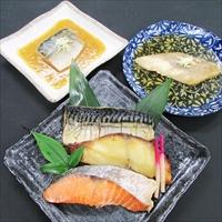 焼魚 煮魚 セット YN-50 〔さば味噌煮、かれい煮付×各2、銀ひらす西京焼、紅鮭塩焼、さば塩焼×各1〕 惣菜 魚介類