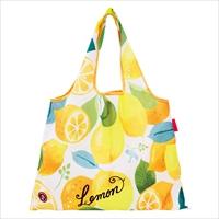 ショッピングバッグ Lemon 〔W53×H40cm、持ち手20cm〕 バッグ エコバッグ