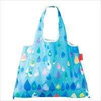 ショッピングバッグ Raindrop 〔W53×H40cm、持ち手20cm〕 バッグ エコバッグ