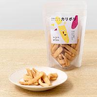 茨城の干し芋かりんとう カリポリ 〔40g×6〕 スナック菓子 オノマトペのおやつたち