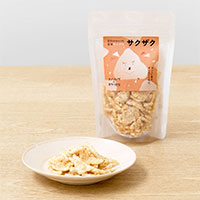 石川のひとくち玄米チップス サクザク 〔25g×6〕 せんべい 和菓子 オノマトペのおやつたち