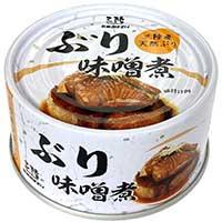 ぶり味噌煮 12個入 〔180g×12〕 惣菜 缶詰 宮城 気仙沼ほてい