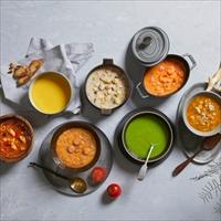7種類のデイリースープセット 〔クリームチャウダー、トマトチャウダー、ミネストローネ ほか全7種〕 惣菜 冷凍 神戸 RF1