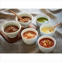 4種類のスープ&キーマカレーセット 〔キーマカレー・チャウダー・ミネストローネ・グリーンポタージュ・とうもろこしのポタージュ〕 惣菜 神戸 RF1