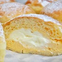 とろける2層のクリームパン 〔120g×6〕冷凍 パン 秋川あらもーど 東京 ア・ラ・モード
