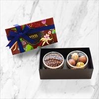 チョコレート アソート2個入 2箱セット 〔(ミルククランチ・ストロベリークリームパール)×2〕 洋菓子 神奈川 VIVEL PATISSERIE