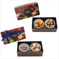 チョコレート アソート 2箱セット 〔(パールチョコレート・クランチチョコレート)2種×各1箱〕 洋菓子 神奈川 VIVEL PATISSERIE