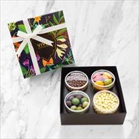 チョコレート アソート4個入 1箱 〔パールチョコレート2種・クランチチョコレート2種〕 洋菓子 神奈川 VIVEL PATISSERIE