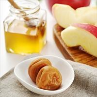 お買い得 はちみつりんご梅 塩分6% 〔300g×4〕 梅干し 和歌山 梅色生活