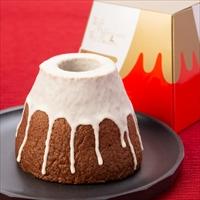 富士山プレミアム頂上バームクーヘン バニラ チョコ 〔約190g×各1計2個〕 バームクーヘン 洋菓子 東京