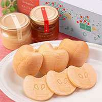 APPLE MONAKA BOX 3個セット 〔(最中種×5組、りんご餡・チーズ餡各70g)×3〕 最中 和菓子 福島 大野農園