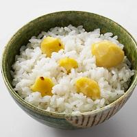 今年採れた京都京丹波の栗 栗ごはん 〔2合用145g×2〕 炊き込みご飯 料理の素 千葉 石井食品