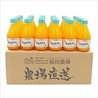 九州まるごとしぼり 温州みかん 30本セット 〔180ml×30〕 ジュース 飲料 熊本 福田農場