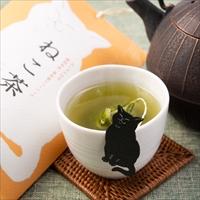 ねこ茶 〔(3g×6)×10〕 緑茶 ティーバッグ 静岡