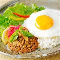 さばdeガパオ 10個入 〔70g×10〕 ガパオライス 料理の素 北海道 近海食品
