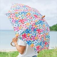 晴雨天兼用傘 〔長さ76cm 傘骨50cm〕 工芸品 傘 沖縄県 BLANC JUJU