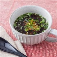 もずくスープ カップ入り 20個 〔(もずく40g・スープ12g・薬味)×20〕 即席スープ 沖縄県 海市水産