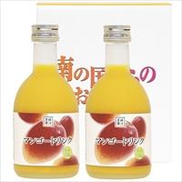 マンゴードリンク 300ml×2本セット 〔300ml×2〕 ジュース 宮崎 宮崎果汁