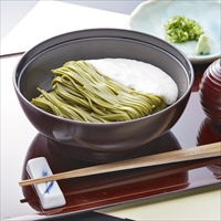 浅草むぎとろ とろろ茶そば 6食セット 〔めん90g・つゆ27.5g・とろろ50g×各6〕 そば 冷凍 東京
