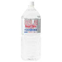天然水 ResetTime 2L×6本入り×2ケース 〔(2L×6)×2〕 水 pH8.0 国産 リセットタイム