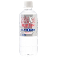 天然水 ResetTime 500ml 48本 〔(500ml×24)×2〕 水 pH8.0 国産 リセットタイム