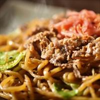 吉野家×富士宮やきそば 牛肉やきそば 12食セット 〔(180g×2)×6〕 焼きそば 冷凍 惣菜 静岡 やきそば王国