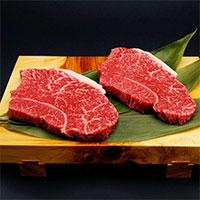 但馬牛 モモステーキ 300g 〔150g×2・牛脂×2〕 牛肉 国産