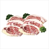 鹿児島黒豚ロース 西京みそ漬け 6個 〔100g×6〕 豚肉 国産