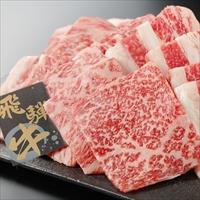 飛騨牛 焼肉用 カタ・バラ 800g 〔200g×4〕 牛肉 国産