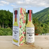 バカスコ 柚子酸味のペッパーソース お試しセット 〔60ml×2〕 調味料 徳島 阪東食品