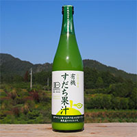 有機すだち酢 有機すだち果汁100% 〔720ml×2〕 酢 調味料 徳島 阪東食品