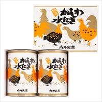 かしわ水炊き 小2缶 セット 〔425g×2〕 缶詰 惣菜