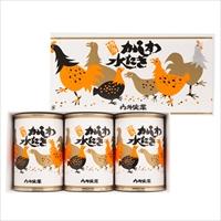 かしわ水炊き 小3缶 セット 〔425g×3〕 缶詰 惣菜
