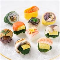 手鞠わさび葉寿司 15個入り 〔手鞠寿司10種計15個〕 寿司 惣菜 奈良 わさび葉寿司 うめもり