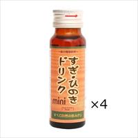 すぎ・ひのきドリンクmini 4本 〔50ml×4〕 健康ドリンク 健康茶