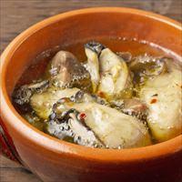広島県産牡蠣のアヒージョ 4個 セット 〔140g(固形量95g)×4〕 アヒージョ 惣菜 Manma