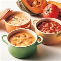 フォレシピ もぐもぐお野菜スープセット 〔かぼちゃ・コーン各160g×各3、トマト160g×2〕 スープ 惣菜