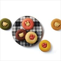 アニマルドーナツ 10個 〔うさぎイチゴ・うさぎプレーン・くまココア・くまキャラメル ほか全6種×計10〕 ドーナツ 洋菓子