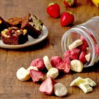 ホシフルーツ 果実とショコラ 8個 〔ホワイトチョコがたっぷりしみ込んだイチゴ・バナナ、ブラウニー4種×計6〕 フルーツ ショコラ 洋菓子