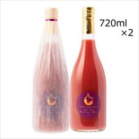 ブラッドオレンジジュース モロ 孤高の深紫 2本 〔720ml×2〕 ジュース 果実飲料 愛媛 奥南エンゲージファーム
