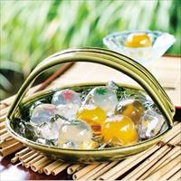 夕涼 詰め合わせ 〔(金魚・水鳥・撫子×各2・楓×1)×2〕 和菓子 神奈川 日影茶屋