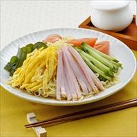 仙台冷やし中華 しょうゆ味 〔(麺120g・しょうゆたれ60g×各2)×2〕 冷やし中華 麺類